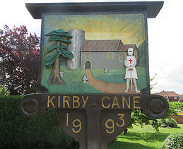 Kirby Cane parish logo (colour)