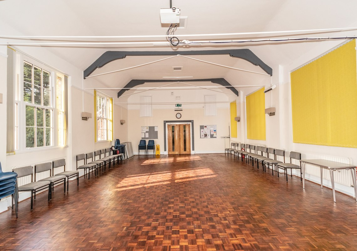 refurbished hall (Geldeston)
