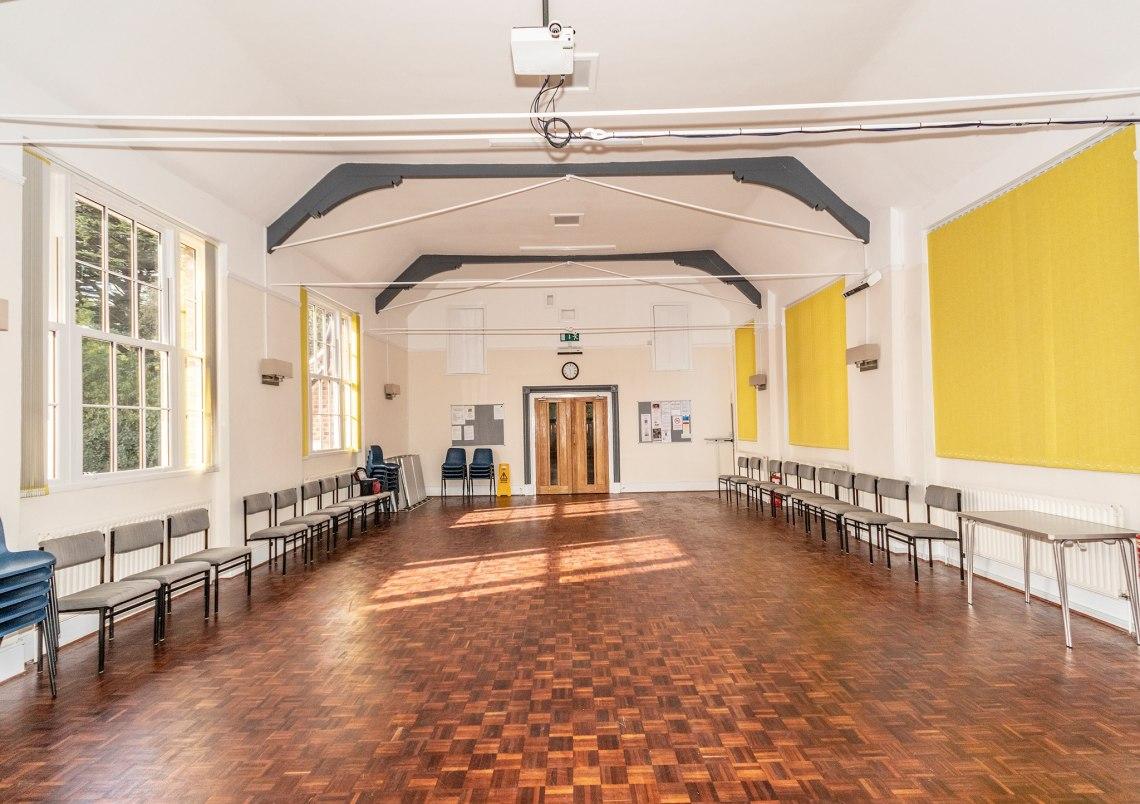 refurbished hall (Geldeston)